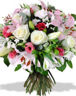 Composition floral printemps